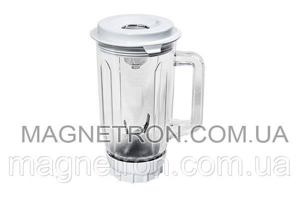 Чаша блендера 1000мл в сборе для кухонного комбайна MUZ4MX2 Bosch 461188, фото 2