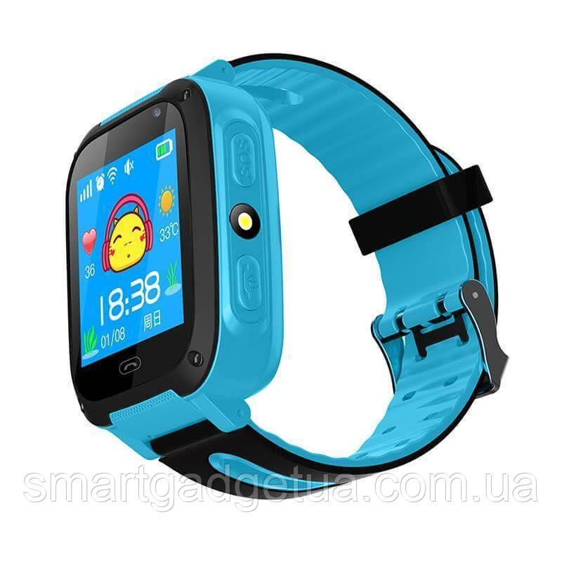 Детские смарт часы Smart Baby Watch F2 с GPS трекером, камерой ...