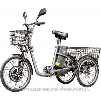 Электровелосипед Vega Happy New 2019 (350 Вт, 36 В, реверс) gray