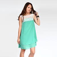 Платье нарядное женское из легкого шифона