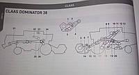 Ремни приводні,варіаторні Claas Dominator 38
