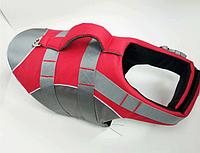 Спасательный жилет для собак красный