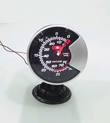 Разрежение во впускном коллекторе (эконометр) стрелочный Ket Gauge 602706 черный Ø60мм прибор датчик