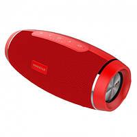Портативная Bluetooth колонка Hopestar H27 с влагозащитой Red USB FM FL-385, КОД: 1083814