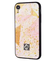 "TPU+PC ""Confetti Print"" для Apple iPhone XR (6.1"") Diamond"