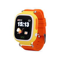 Детские смарт-часы Smart Watch Q90 GPS WiFi Yellow 1730, КОД: 1082820