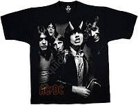 """3D футболки - коллекция """"Rock"""" (AC/DC, KISS)"""