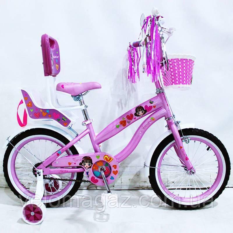 """Велосипед двухколесный детский SIGMA """"JASMINE"""" 16"""""""