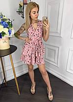 Платье  принт в расцветках  907004Б, фото 3