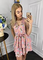 Платье  принт в расцветках  907004Б, фото 2