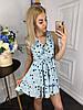 Платье  принт в расцветках  907004Б, фото 4