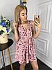 Платье  принт в расцветках  907004Б, фото 5