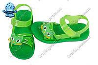 Детские сандалии (Код: 1100 котик зеленый)