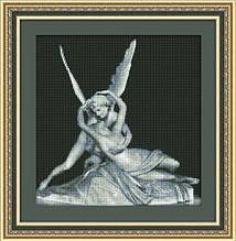 Амур и Психея 0101 Набор для вышивки крестом фирма Юнона