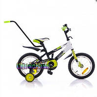 """Детский велосипед Azimut STITH-14"""" (с родительской ручкой)"""