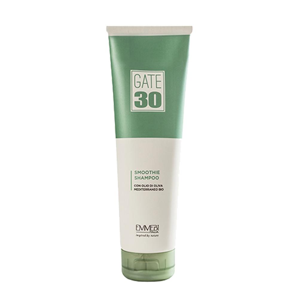 Emmebi GATE 30 Oliva Bio Smoothie Shampoo Выравнивающий безсульфатный шампунь для волос, 250 ml