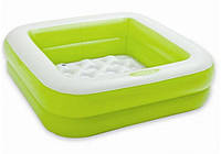 Дитячий надувний басейн 85Х85х23см, салатовий, фото 1