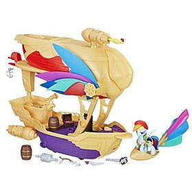 Игровой набор Hasbro My Little pony Летающий Пиратский корабль Рейнбоу Дэшсерия Хранители Гармонии C1059