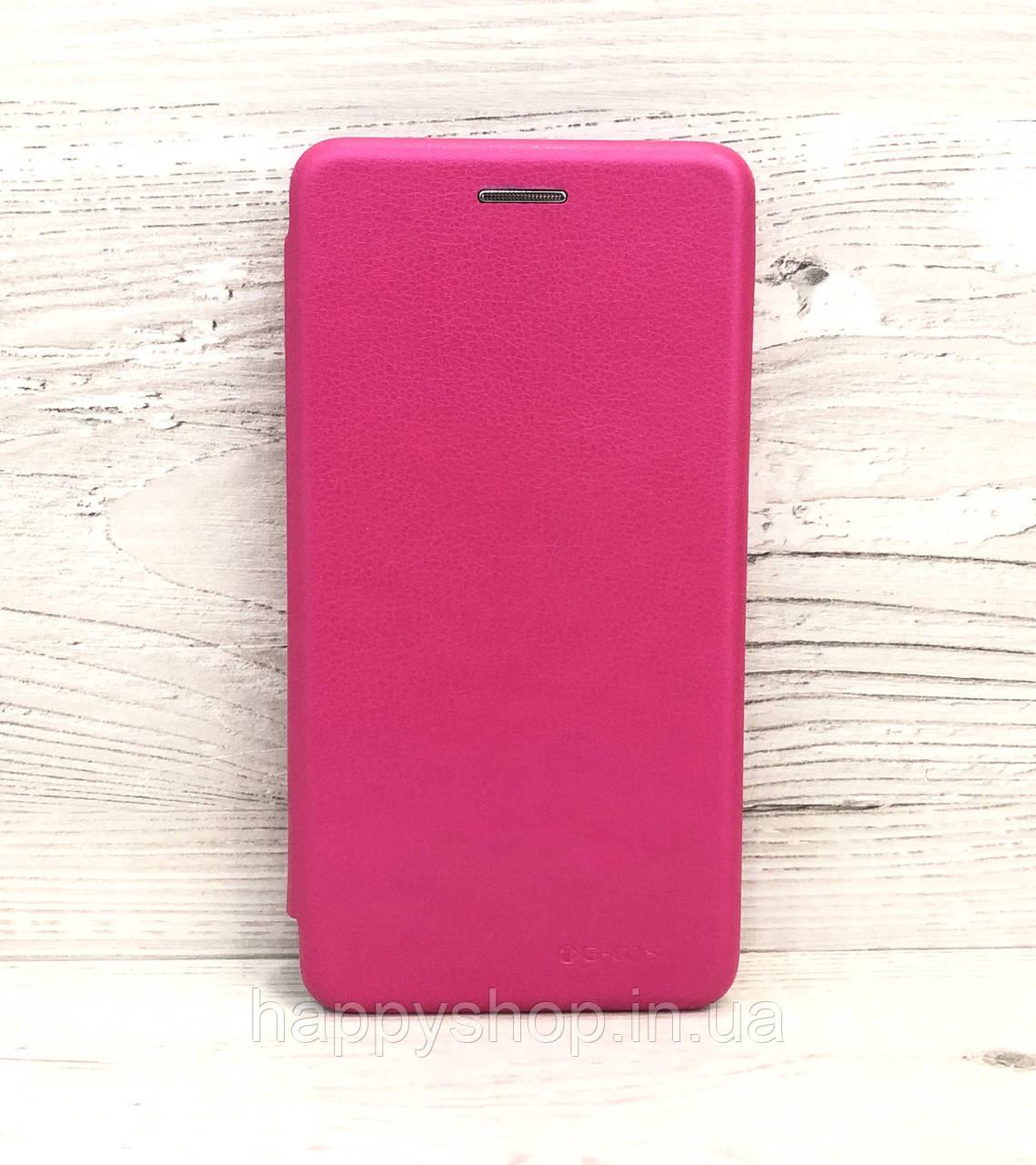 Чехол-книжка G-Case для Huawei Y5 2019 (Розовый)