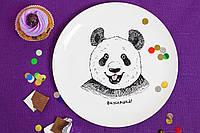Тарелка Панда вкусняшка