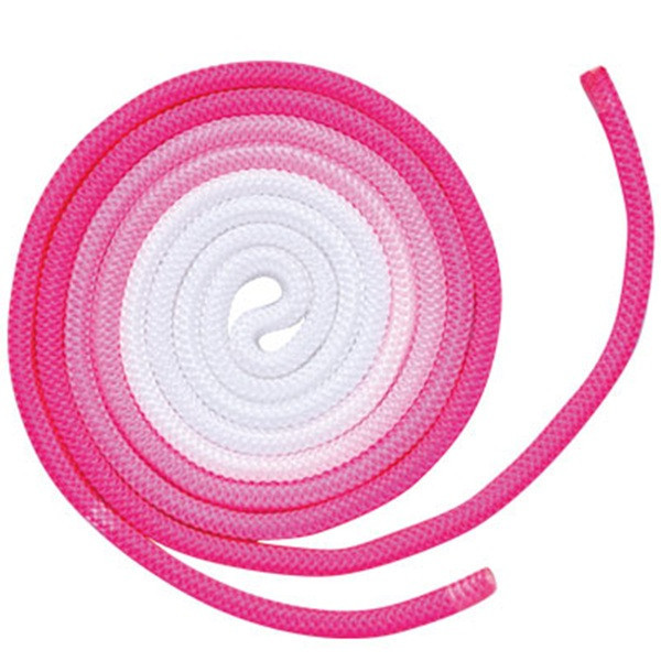 Скакалка Chacott ORIGINAL GRADATION ROPE OUTER-COLOR (NYLON) 3м Цвет: 743.Pink