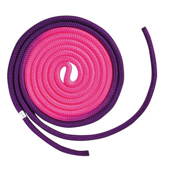 Скакалка Chacott ORIGINAL COMBINATION COLOR ROPE (NYLON) 3м Цвет: 777.Purple&Pink