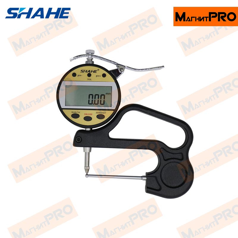 Цифровой толщиномер Shahe 5320-10 60 mm