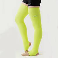 Гетры гимнастические Chacott NEON LEG COVER / One Size / Цвет: 063.Yellow