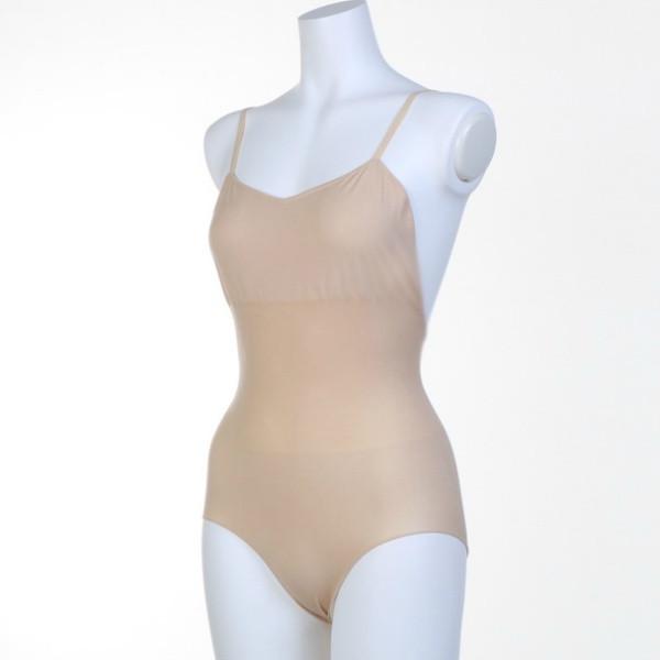 Подкупальник Chacott ORIGINAL BODY FOUNDATION (Regular cut) / Size: L / Цвет: 011.Beige