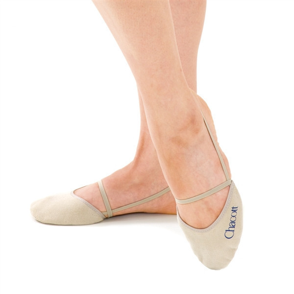 Получешки Chacott ORIGINAL WASHABLE HALF SHOES / LL (25.0-25.5cm) / Цвет: 011.Beige