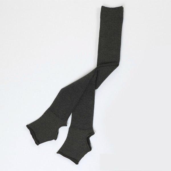 Гетры гимнастические Chacott LEG COVERS №60 (60 см.) / One Size / Цвет: 007.Dark Gray