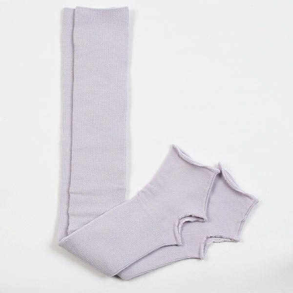 Гетры гимнастические Chacott LEG COVERS №60 (60 см.) / One Size / Цвет: 070.Iris