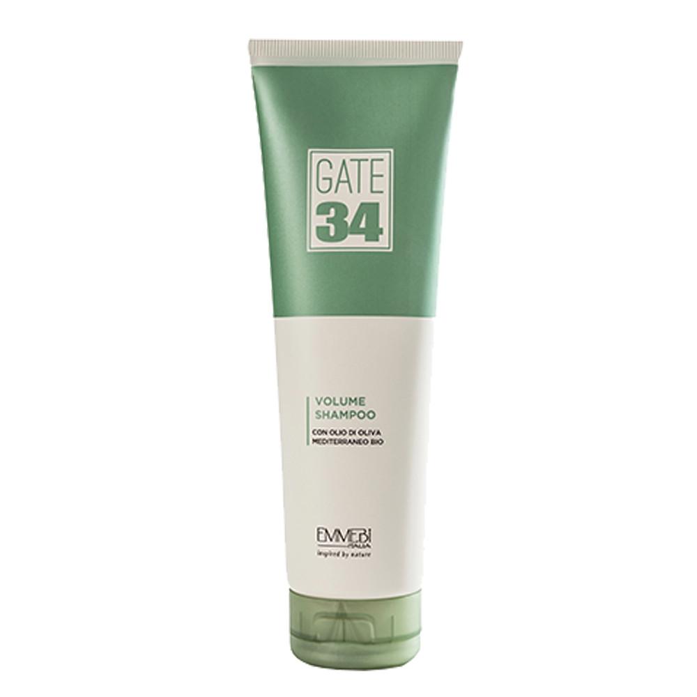Emmebi Italia Gate 34 Oliva Bio Volume Shampoo Бесзульфатный шампунь для объема, 250 мл