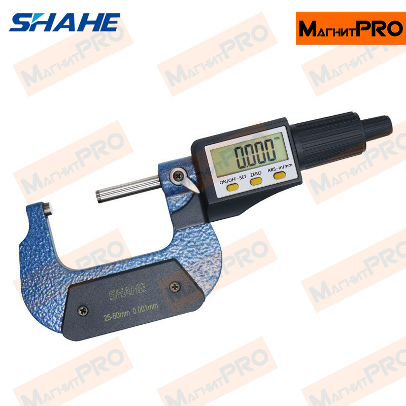 Микрометр цифровой Shahe 5205-50 (25-50мм)