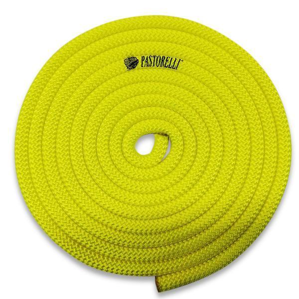 Скакалка гимнастическая PASTORELLI NEW ORLEANS / F.I.G. Approved / 3м / Цвет: Fluo Yellow