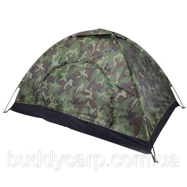 Палатка туристическая 2*1.5*1 м. камуфляжная