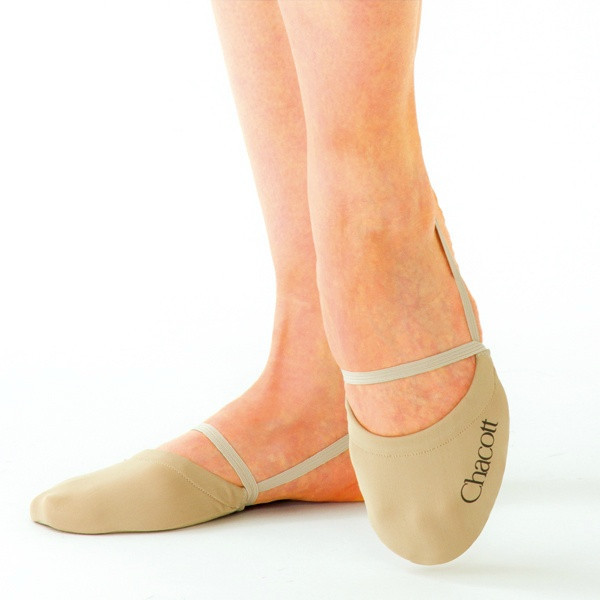 Получешки Chacott ORIGINAL STRETCH HALF SHOES / M (21.5-23.5cm) / Цвет: 011.Beige