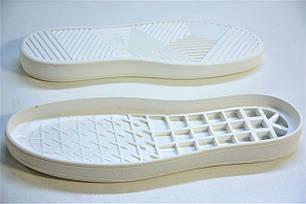Подошва для обуви женская Емоджи 2 белая р,36-42, фото 2
