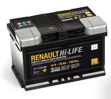 Акумулятори Renault Logan
