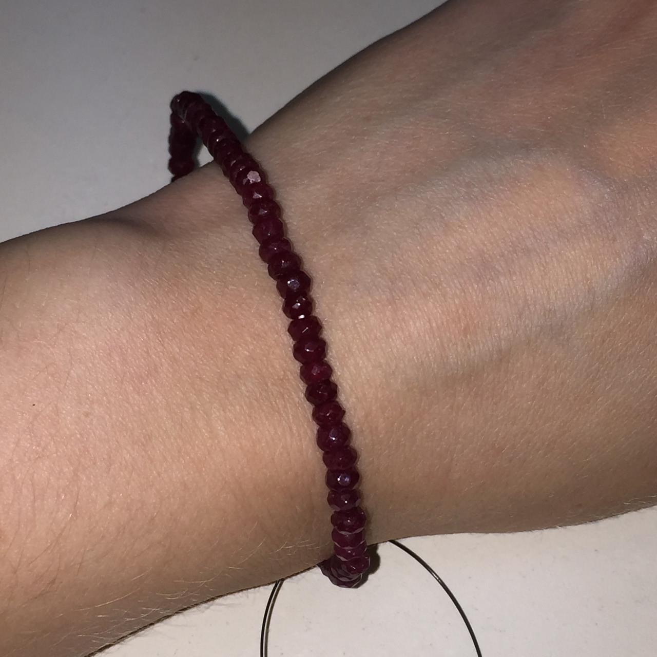 Рубин браслет с рубином. Браслет с камнем рубин Индия