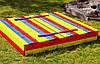 Набор песочница 120 х 120 см + Стол с лавочками., фото 4