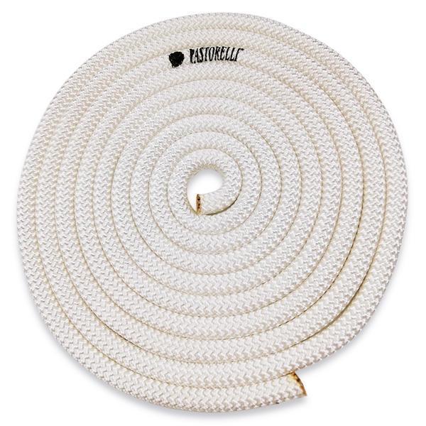 Скакалка гимнастическая PASTORELLI NEW ORLEANS / F.I.G. Approved / 3м / Цвет: White