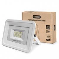 Прожектор светодиодный Videx 20W дневной свет ip65