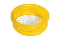 """Разноцветный детский надувной бассейн """"Краски"""" с мягким дном ,желтый, фото 1"""