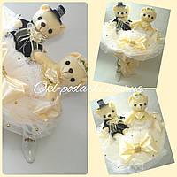 Букет из игрушек Свадебный зефир, фото 1