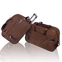 Дорожные сумки в комплекте редкие на колесах Joshua, фото 1