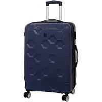 Чемодан IT Luggage HEXA/Blue Depths M Средний