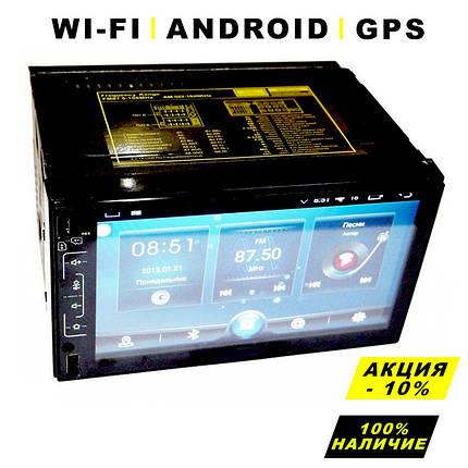 Автомагнитола 2DIN Android 6.0.1 GPS, Bluetooth, Wi-Fi, 6511, автомобильная магнитола 2 ДИН с экраном 7 дюйма, фото 2