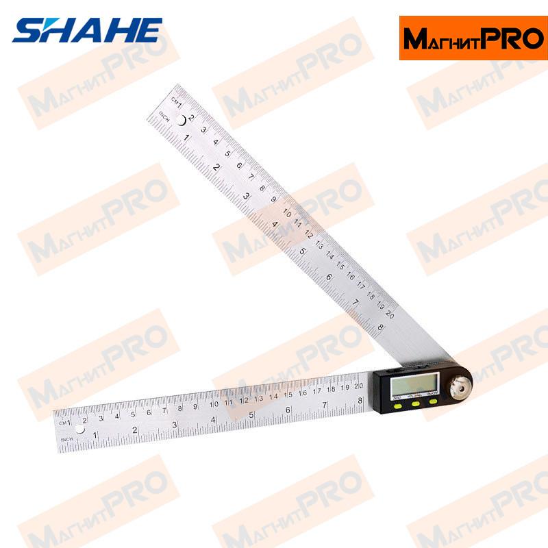 Угломер (транспортир, малка) Shahe 5422-200 (200мм)