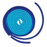 Скакалка Chacott ORIGINAL COMBINATION COLOR ROPE (NYLON) 3м Цвет: 728.Navy Blue&Turquoise